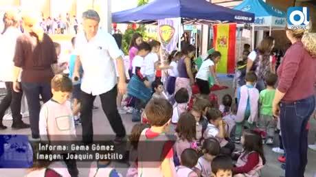 Motorada infantil en el CEIP Manuel de Falla