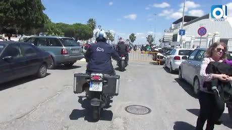 Bajo de Guía, concentración previa del GP de España de Motociclismo