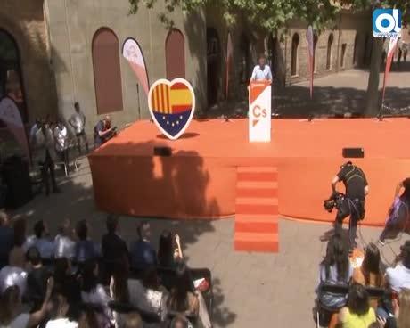 Rivera pide el adelanto electoral en Cataluña