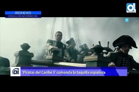 'Piratas del Caribe 5' comanda la taquilla española