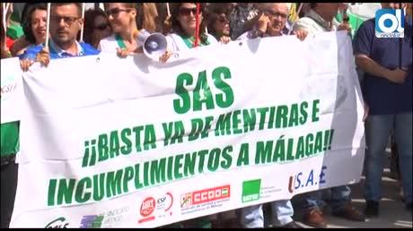 Nueva protesta para exigir una sanidad al 100% este verano en Málaga