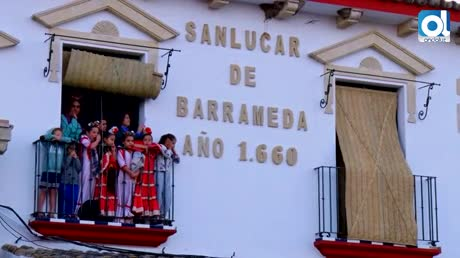 La Virgen del Rocío llega a la Casa Hermandad de Sanlúcar