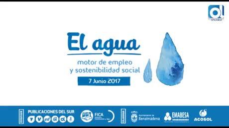 Éxito de la jornada 'El agua, motor de empleo y sostenibilidad social'