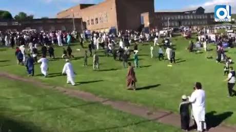 Seis heridos por un atropello en Newcastle durante el fin del Ramadán