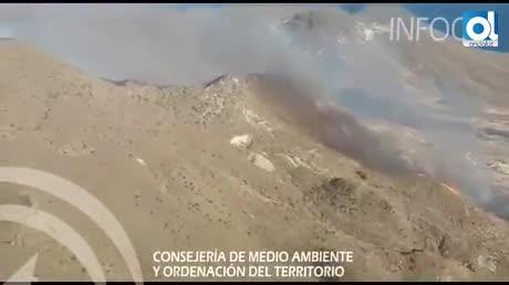 Controlado el incendio en el Pozo de los Frailes de Níjar