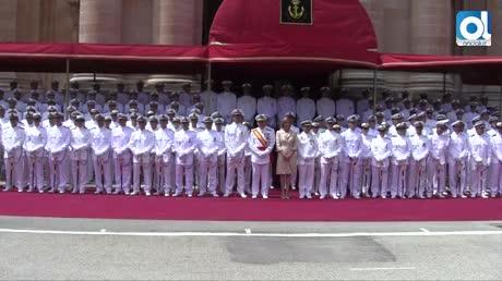 Cospedal preside la entrega de despachos a 182 nuevos sargentos
