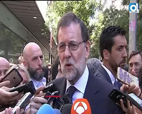 Rajoy reivindica a Miguel Ángel Blanco y el espíritu de Ermua