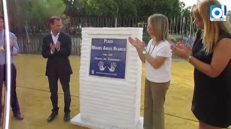 Inaugurado el monolito para recordar a Miguel Ángel Blanco