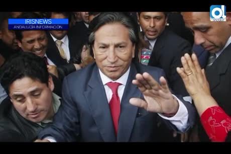 Humala y su esposa ingresan en los calabozos del Palacio de Justicia