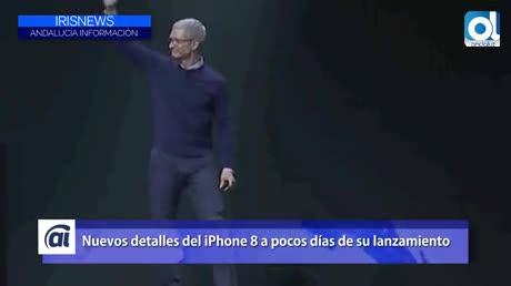 Nuevos detalles del iPhone 8 a pocos días de su lanzamiento