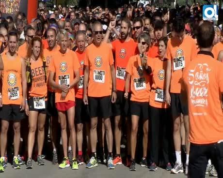 Los 'Beer Runners' celebran su V aniversario en España