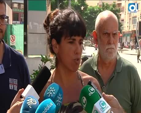 Teresa Rodríguez defiende a Juan Clavero
