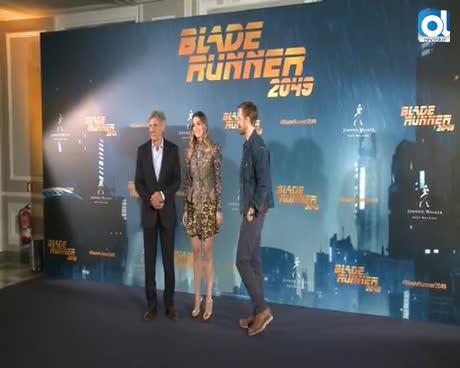 Harrison Ford y Gosling presentan 'Blade runner 2049'