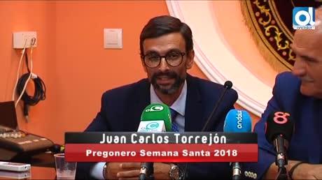 El Prendimiento en el Vía Crucis y Juan Carlos Torrejón, pregonero