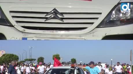 Unas 3.000 personas participan en el tradicional Día de la Bicicleta