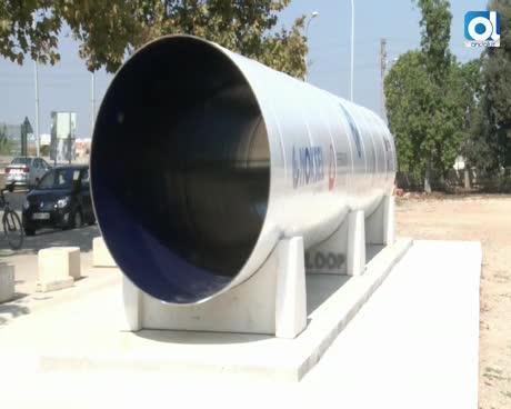 Así es la primera pista de investigación de Hyperloop de España