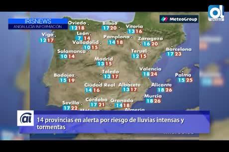 Las temperaturas subirán notablemente en el interior de la Península
