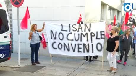 """Las limpiadoras del Hospital de Jerez: """"No podemos más"""""""