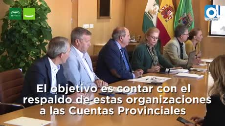 Villalobos traslada el presupuesto de 2018 a los agentes sociales