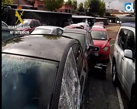 Ocho detenidos de una red dedicada al robo de coches para su desguace