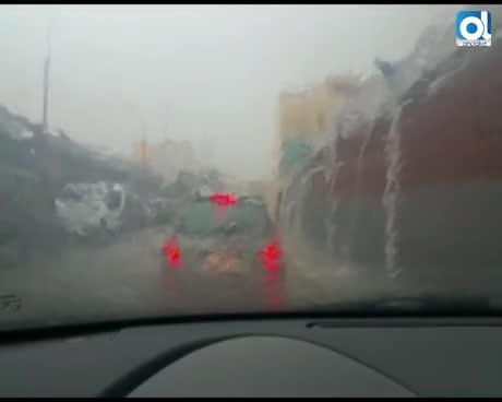 Las intensas lluvias dejan incidencias entre Sanlúcar y Chipiona