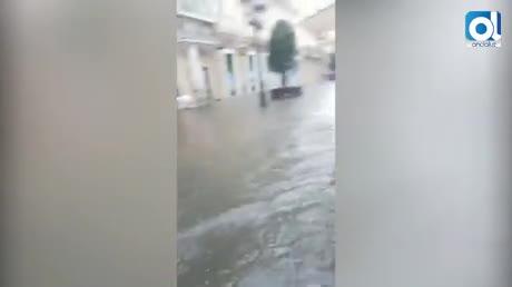 Cádiz se inunda con la tormenta
