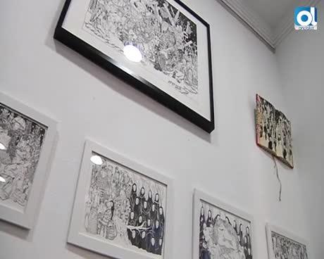 Raúl Lucas presenta la exposición titulada 'En aquel país'