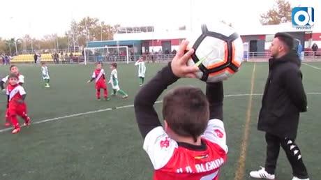 El prebenjamín C del Sanluqueño derrotó al B de la UD Algaida