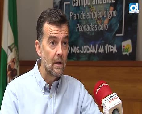 """Antonio Maíllo afea a la Junta su """"improvisación"""" con las 35 horas"""