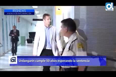 Urdangarín cumple 50 años esperando la sentencia
