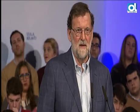 """Rajoy desde Sevilla: Es """"ilegal"""" que Puigdemont sea investido"""