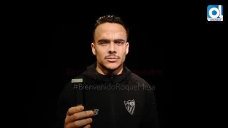 Roque Mesa, cedido al Sevilla hasta el final de temporada