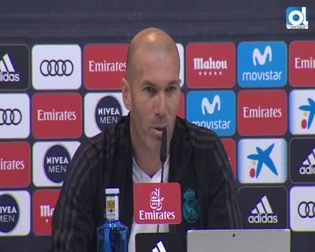 """Zidane: """"Cristiano está motivado; quiere demostrar de lo que es capaz"""""""
