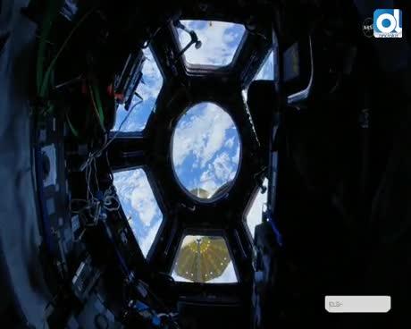 La nave tripulada rusa Soyuz MS-06 aterriza en la estepa kazaja