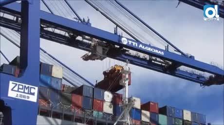 El Puerto de Algeciras opera el mayor portacontenedores de su historia