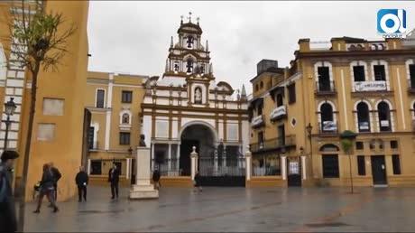 El entorno del arco y la basílica de la Macarena, listo