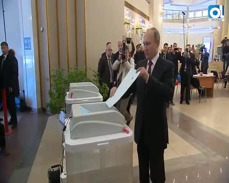 110 millones de rusos, convocados a las urnas para las presidenciales