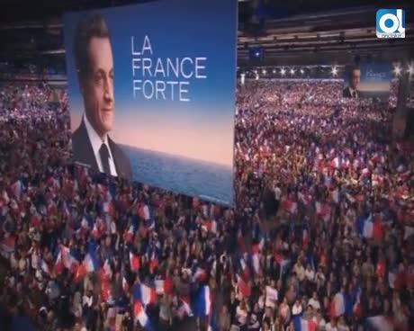 Sarkozy declara, bajo arresto, por la financiación de campaña en 2007