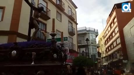 Solemnidad y tradición se unen con la Buena Muerte en Algeciras