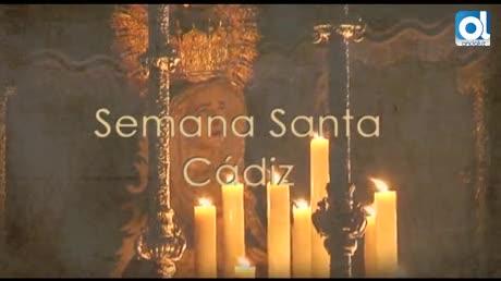 Magnífica tarde de Jueves Santo en Cádiz