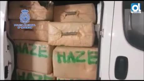 Un detenido en un zulo de La Línea con más de 6 toneladas de hachís