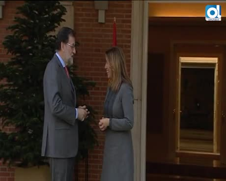 """Rajoy se compromete ante Díaz a convocar el CPFF """"de manera inminente"""""""