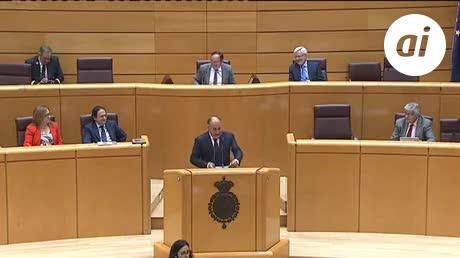 El Senado respalda la moción de Landaluce sobre la Algeciras-Bobadilla