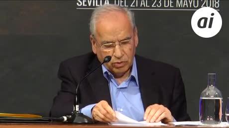 """Alfonso Guerra defiende la palabra """"España"""" frente a los """"ignorantes"""""""
