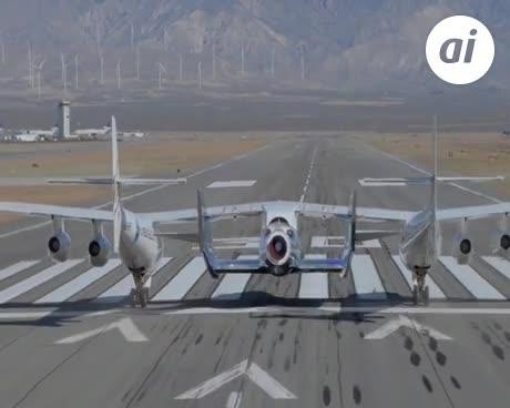 Virgin Galactic eleva a 35 kilómetros su nave de turismo espacial
