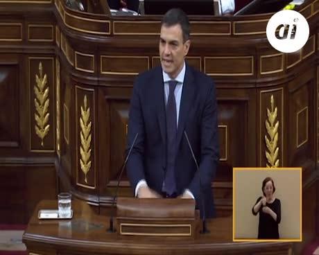 """Pedro Sánchez: """"Vamos a escribir una nueva página de la democracia"""""""