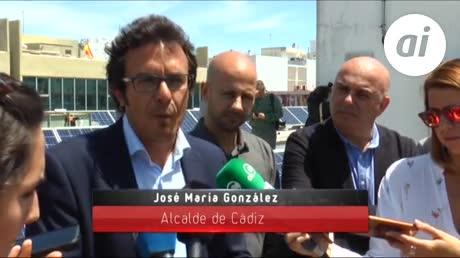 La primera instalación renovable de Aguas y Eléctrica de Cádiz