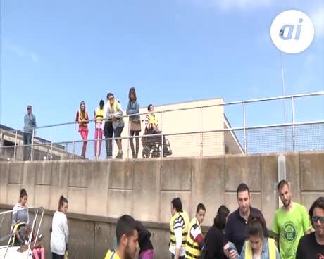 Alumnos del centro 'Pili Varo' disfrutaron del programa de Vela