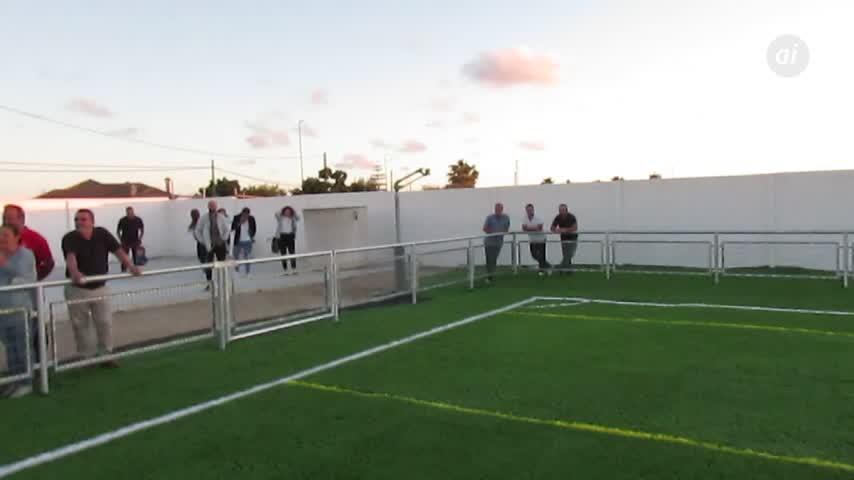 Gran expectación en la inauguración del Doro Stadium de la UD Algaida