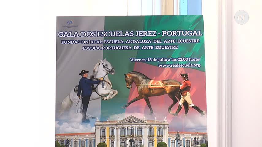 Las escuelas ecuestres de Jerez y Portugal se citan en un espectáculo